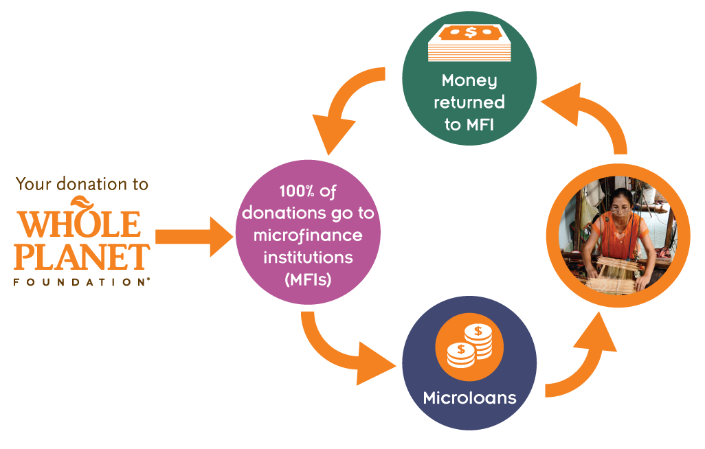 Microcredit Whole Planet Foundation