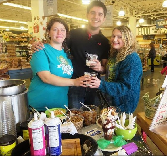 Whole Foods Market Team Members Slinging Sundaes on Sunday with Greyston Bakery in Hyannis