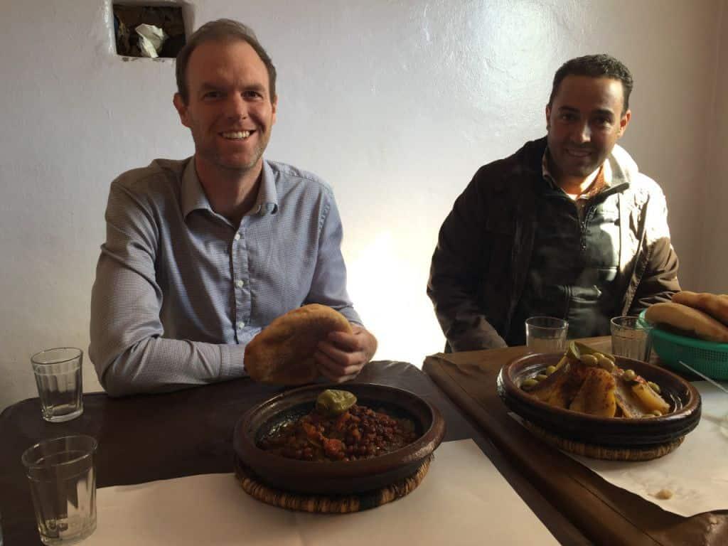Brian Visits INMAA Morocco
