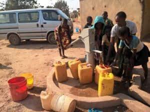 voss water village well
