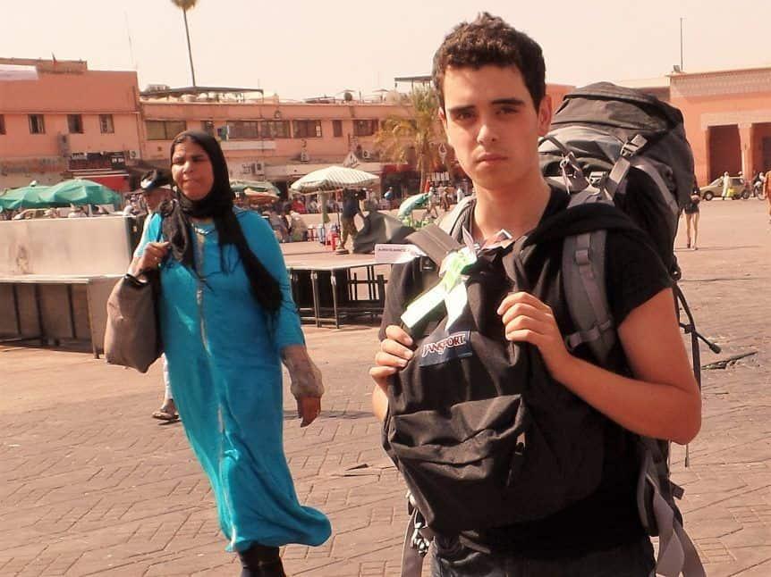 jainam visits morocco