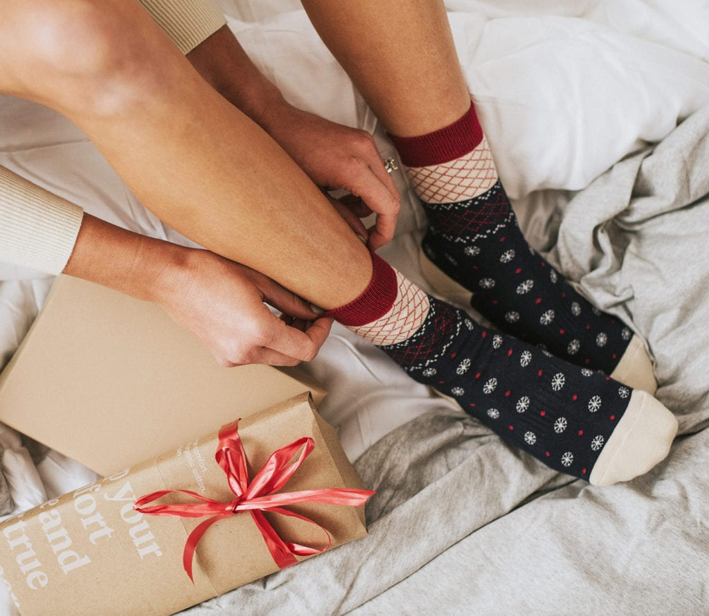 holiday socks