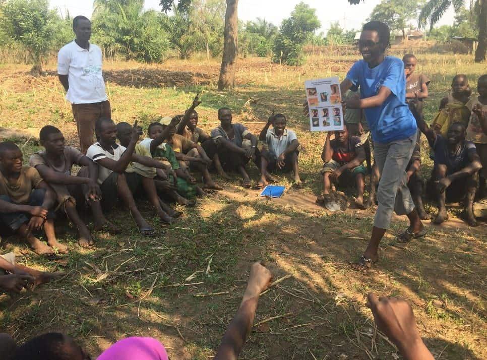 training in burundi ultra poor program