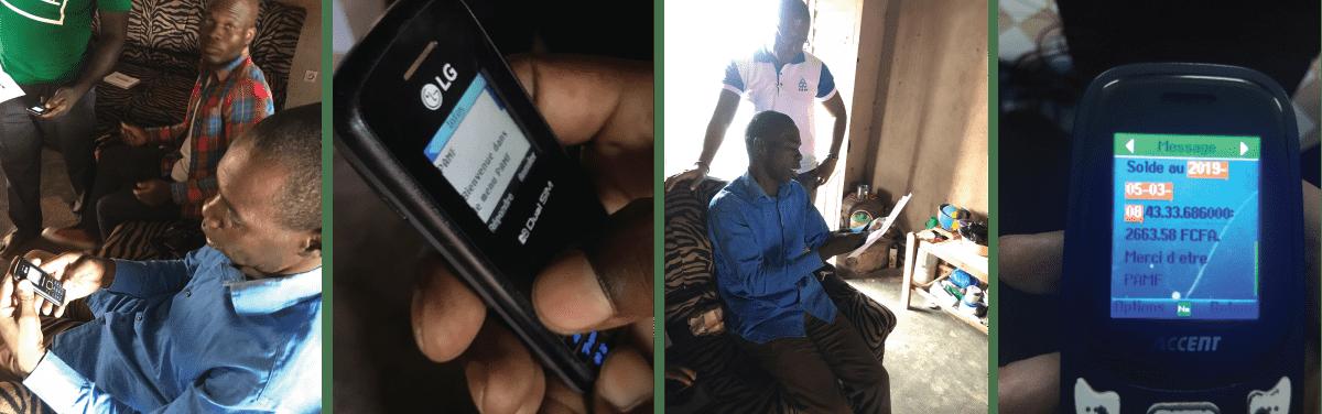 mobile banking microfinance cote divoire