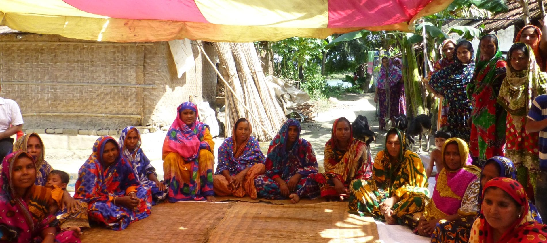 brac bangladesh microcredit meeting of women